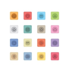 Web icons 26 vector