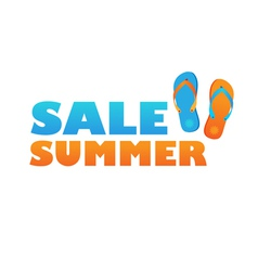 Sale summer vector