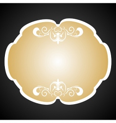 Royal background card for design vector