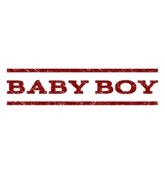Baby Boy Watermark Stamp vector image