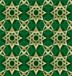 muslim geometric ornament vector image