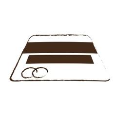 Sketch draw credit card money bank icon vector