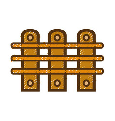 grid wood texture design construction vector image