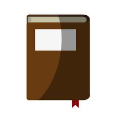 Reading book separator vector