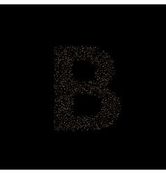 Magic B letter vector image