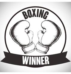 Boxing icon design vector image