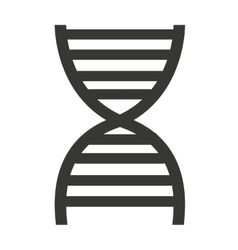 dna molecule isolated icon design vector image
