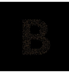 Magic b letter vector