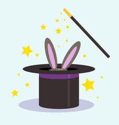 magic trick vector image vector image