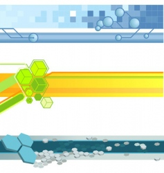 website banner backgrounds vector image