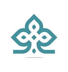 Logo design element company letter symbol plant vector