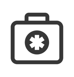Medical kit icon medical and health care concept vector