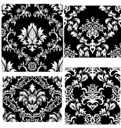 amask patterns set vector image vector image