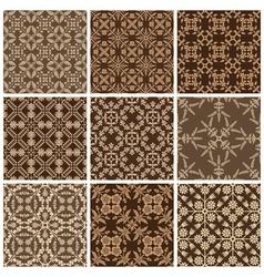 Seamless print patterns vector