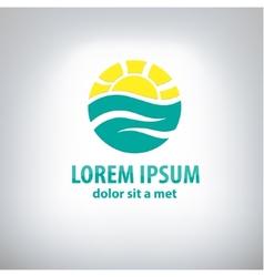 Travel logo design template vector image vector image