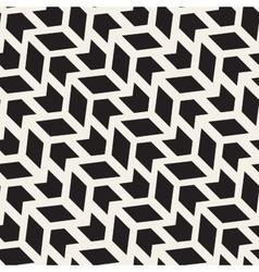 Seamless arrow shape zigzag geometric grid vector