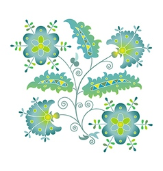 Summer flower vector