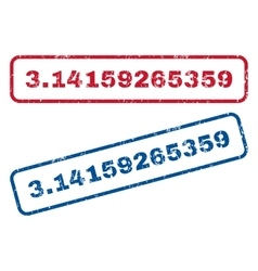 314159265359 rubber stamps vector