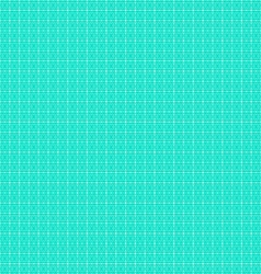 Geometric white-turquoise pattern or background vector image vector image