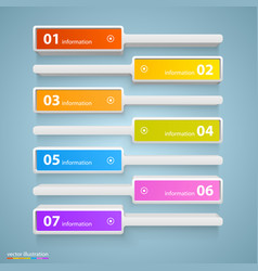 List of options art info vector