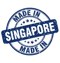 Made in singapore vector