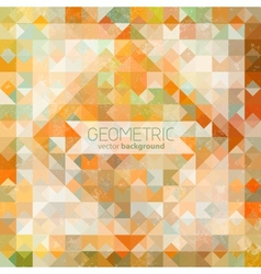Mosaic grunge background vector image vector image