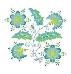 summer flower vector image