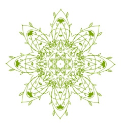 Arabesque ornament vector