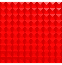 Abstract red poligonal background vector