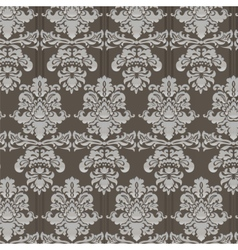 Damask ornament pattern vector image vector image