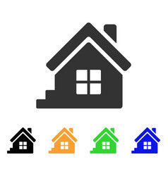 House porch icon vector