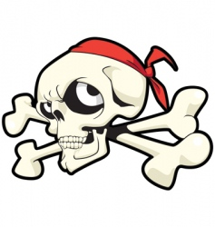 joley skull vector image