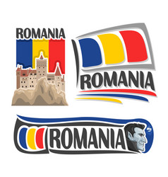 Logo for romania vector