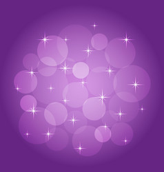 Abstract background with bokeh lilac vector