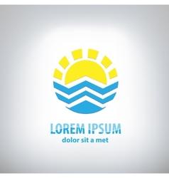 Travel logo design template vector image
