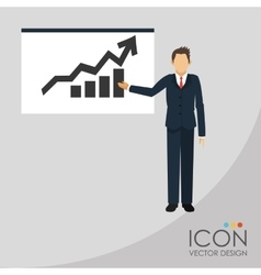 Businesspeople icon design vector