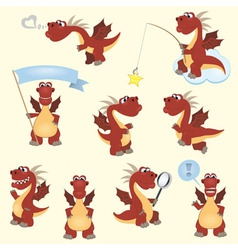 Dragon set2 vector