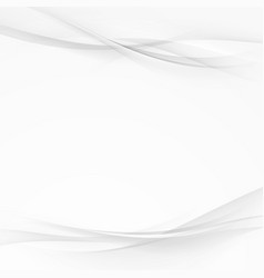 Abstract transparent silver line background vector