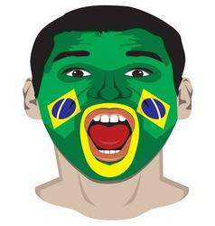 Go Brazil resize vector image