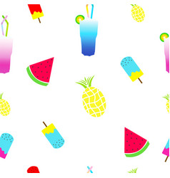 seamless tileable summer texture vector image