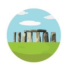 stonehenge icon isolated on white background vector image vector image