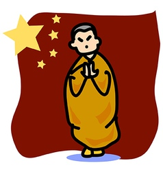 Asia people chinese man vector