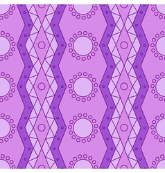 lilac geometry pattern vector image