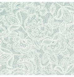 Lace floral pattern light contour backdrop vector