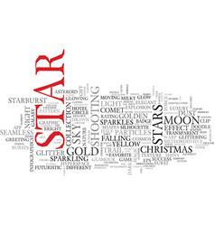 Star word cloud concept vector