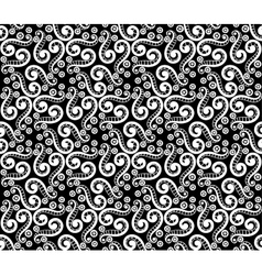 Abstract steampunk seamless hand-drawn pattern vector