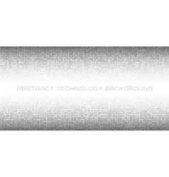 Abstract Gray Technology Horizontal Background vector image vector image