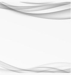 Abstract transparent swoosh modern lines vector