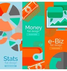 Money business e-commerce concepts vector