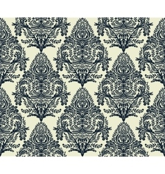 Wallpaper baroque seamless pattern vector image